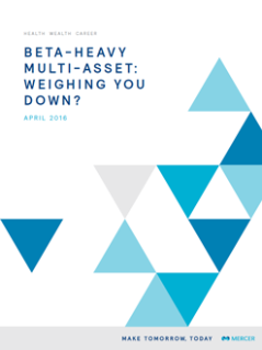 Beta-Heavy Multi-Asset: Weighing You Down?