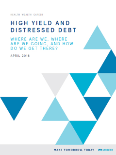 High Yield and Distressed Debt