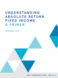 Understanding Absolute Return Fixed Income